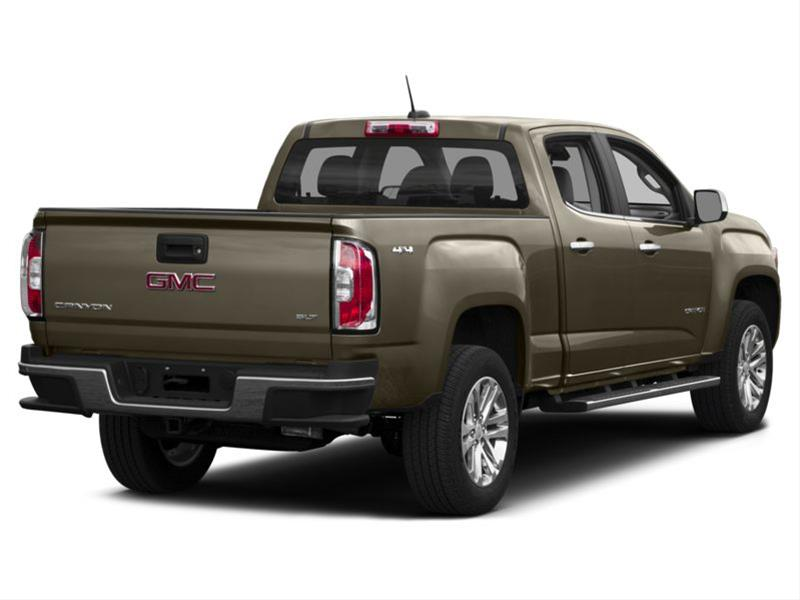 new 2017 gmc canyon slt 4x4 crew cab 5 ft box 128 3 in wb ontario. Black Bedroom Furniture Sets. Home Design Ideas