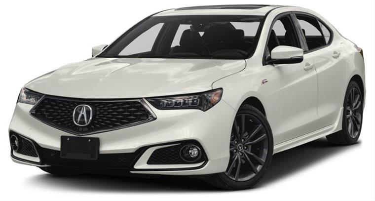 Acura TLX Tech ASpec DCT Dr Frontwheel Drive Sedan For - 2018 acura tsx front lip