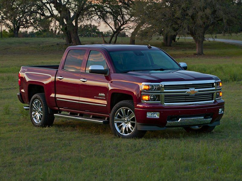 New 2015 Chevrolet Silverado 1500 High Country 4x2 Crew