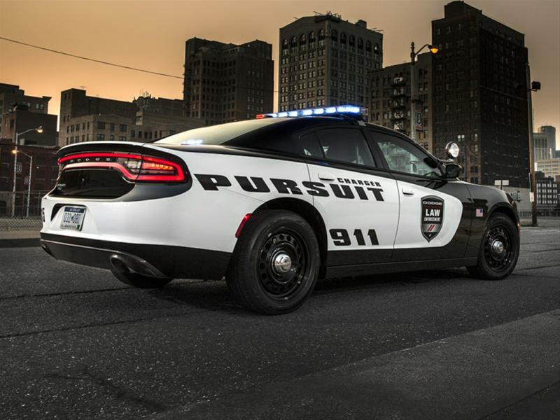 New 2018 Dodge Charger Police 4dr Rear Wheel Drive Sedan