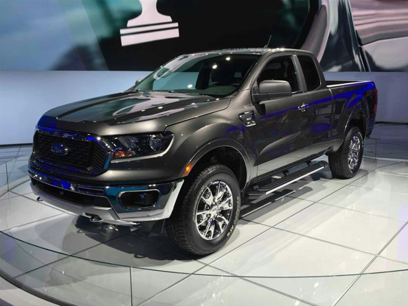New 2019 Ford Ranger XL 4x4 SuperCab 6 ft. box 126.8 in ...