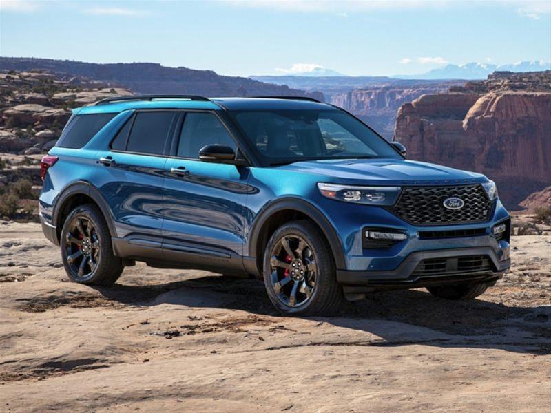new 2021 ford explorer st 4dr 4x4 , ontario